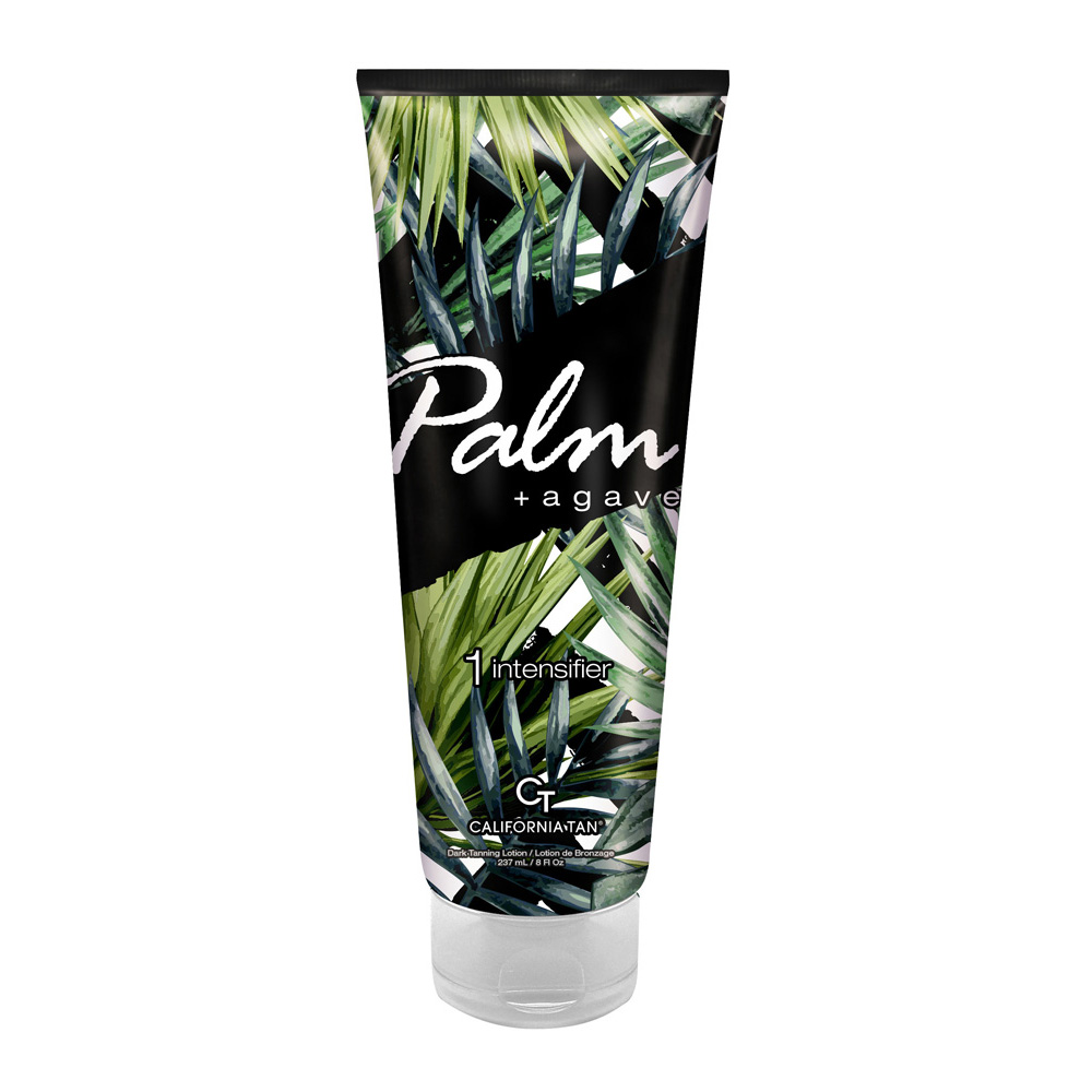 Palm Agave Step 1 Blue Tanning Beauty